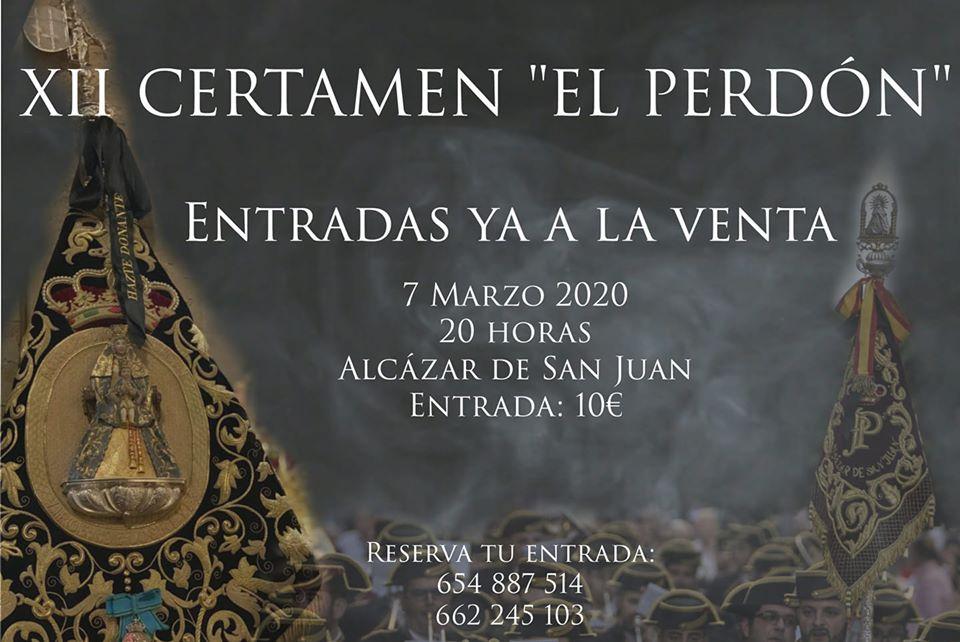 """Venta de entradas XII Certamen """"El Perdón"""""""