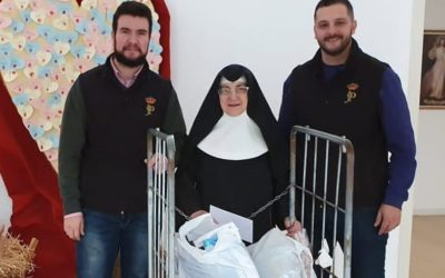 Donación de nuestra cesta navideña